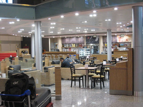 Bangalore International Airport at 2am. Listless much?