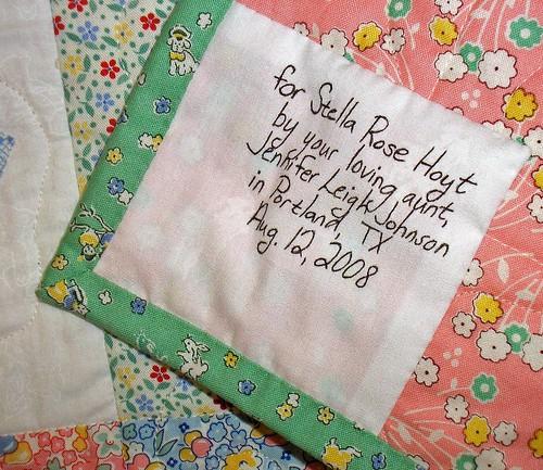 Stella bday quilt (10)