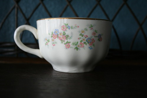Thrift Store Teacup