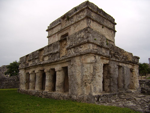 Maya Temple of the Frescos Tulun Mexico
