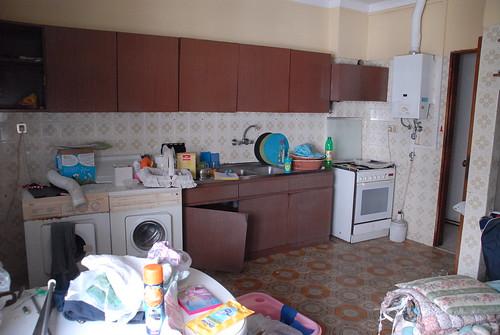 Cozinha, vista sudoeste