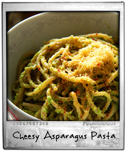Asparagus and Garlic Pasta