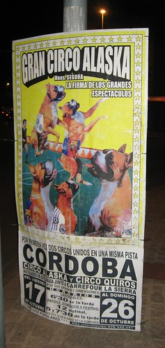 circos crueles en Cordoba