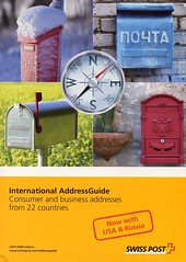 International Address Guide - Consumer and business addresses from 22 countries - SwissPost