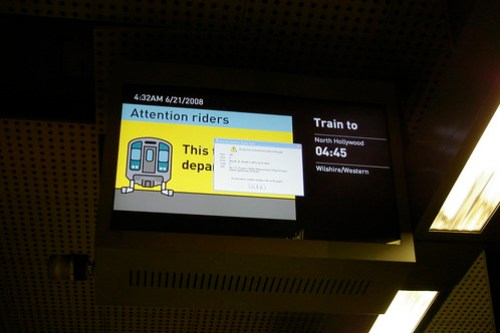 Plus Metro asks: are Metro's passenger information displays more annoying than informative?