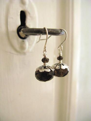 Brunette earrings