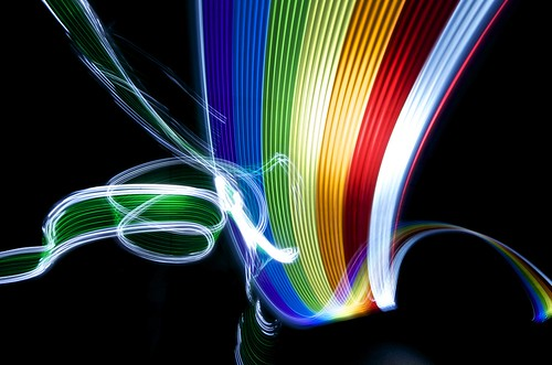LightPaint Rainbows