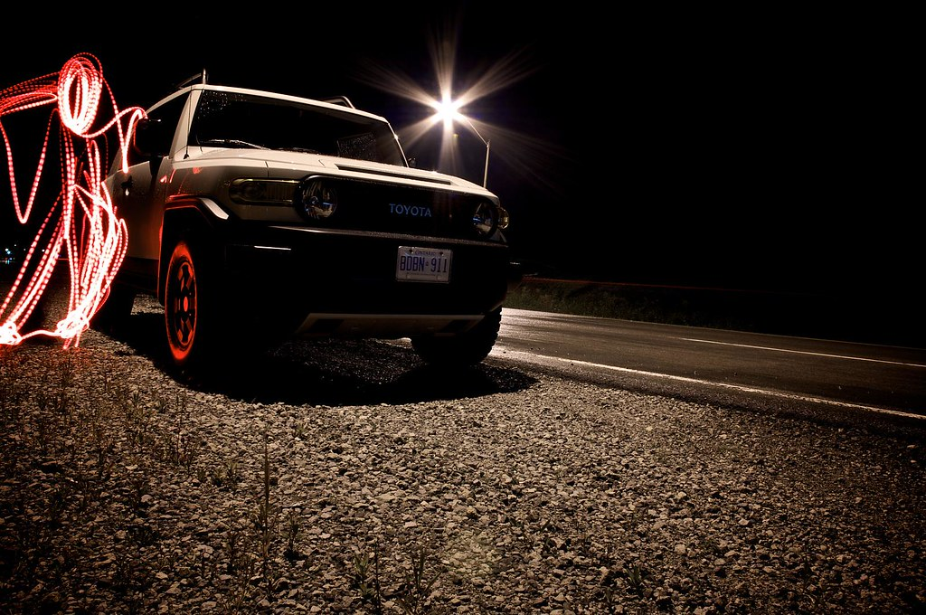 The Toyota FJ Cruiser Trail Teams edition