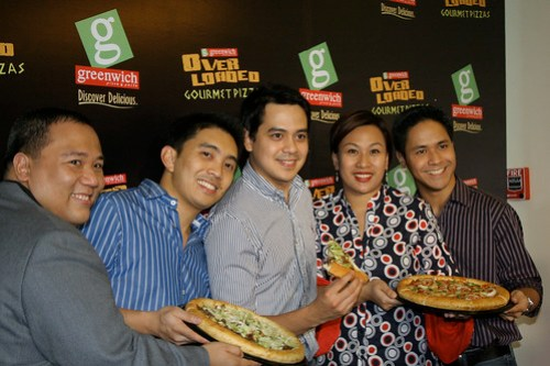 Pizza Party with John Lloyd