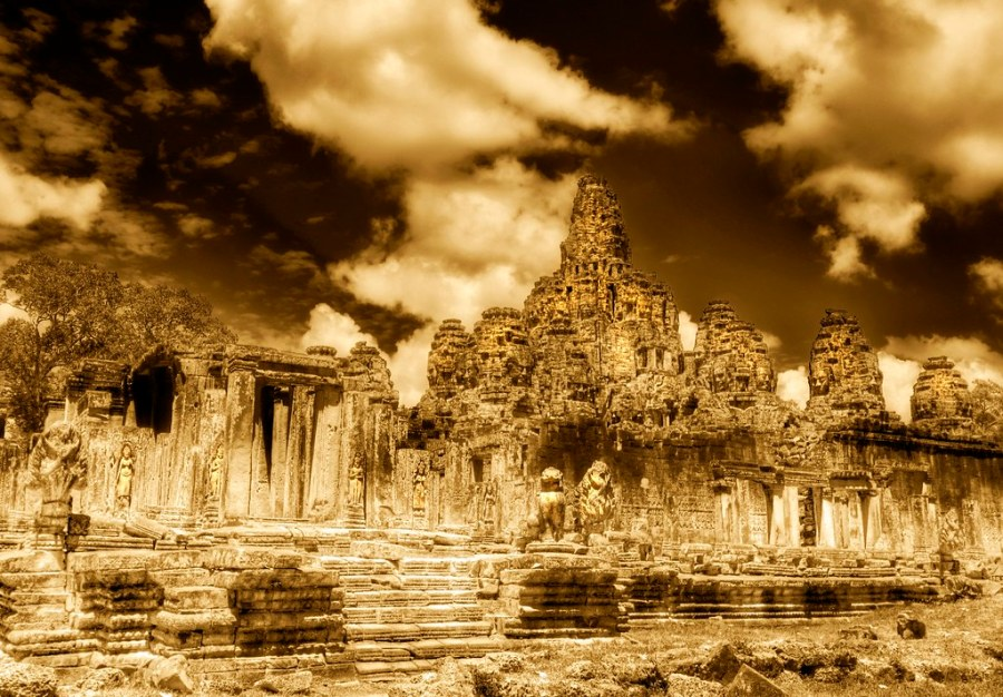 The Towers of Angkor Thom