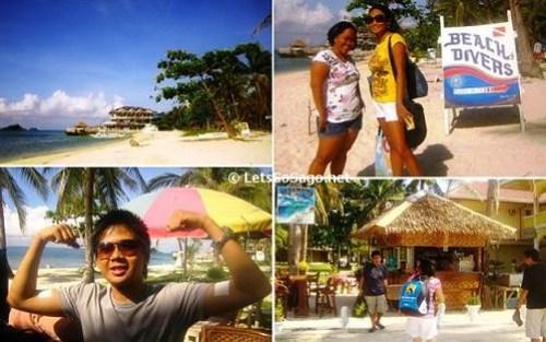 Leaving Malapascua Island