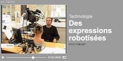 euronews   Des expressions robotisées