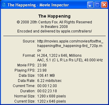 The Happening: Apple Trailer at 720p HD