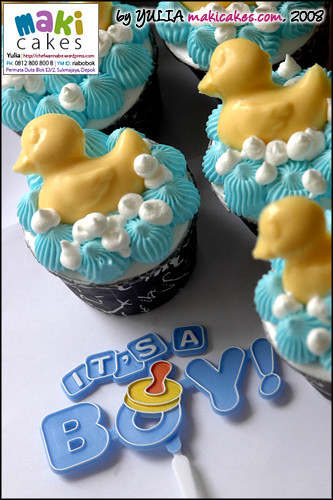 Rubber Duck - Baby Cupcakes