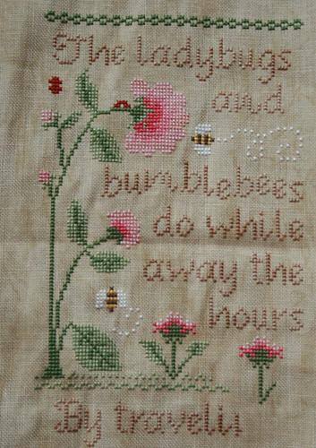 Ladybugs & Bumblebees WIP