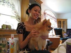 Karen & Lil' Bear
