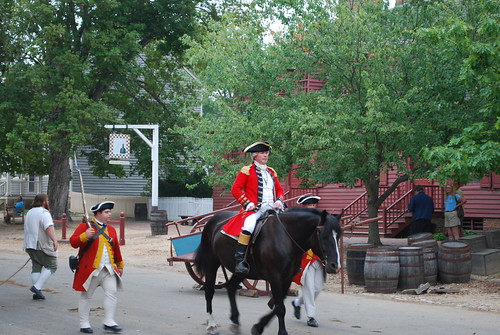 Colonial Williamsburg re-enactment
