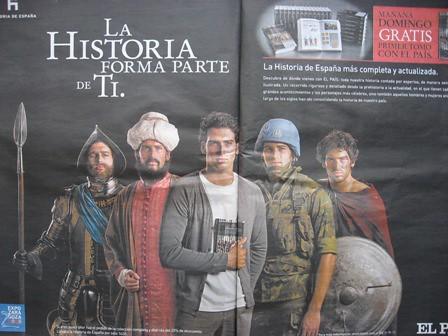 La Historia de España la protagonizan sólo hombres.