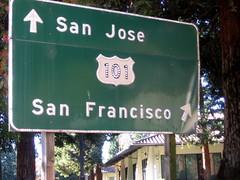 US-101N para São Francisco
