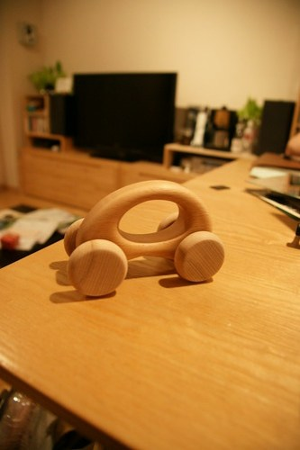 woodwork 木の車