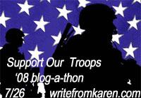 Blog-a-thon '08 at writefromkaren.com