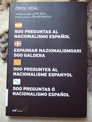 500 preguntas al nacionalismo español