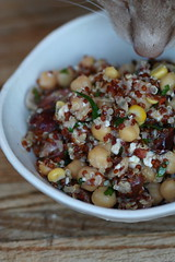 Chickpea, Quinoa, and Feta Salad