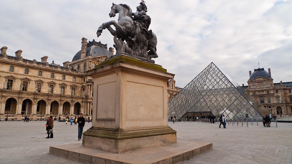 Cour de Louvre