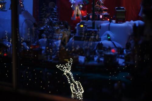 Christmas decorations in Auburn