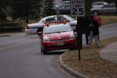 The Driverless Car Gets Stuck on a Curb