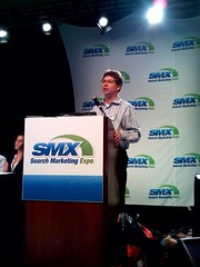Danny Sullivan moderating the Linking Q and A
