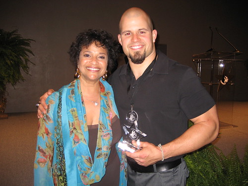 BOSSCARS AWARDS: Debbie Allen with James Gonsoulin