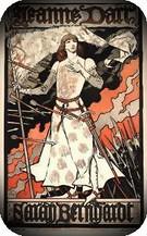 Eugene Grasset. Jeanne d'Arc, 1890.