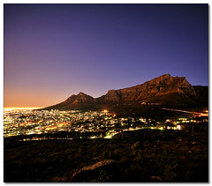 Cape Town Blue Hour