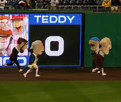 Manny Ramirez inspired Teddy Roosevelt to run the presidents race in dreadlocks