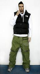 Cute Guy - Snowboarder Baggy Boy Style