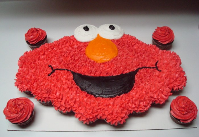 Pin Coolest Elmo Birthday Cake 89 Cake On Pinterest