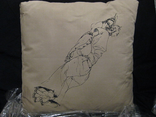 coussin david choe