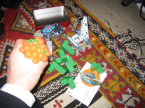 Assorted other goodies that took my fancy. Mechano, squidgy balls, etcetera.