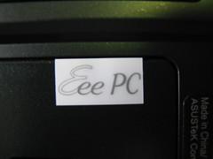 Eeepc 1000保固標籤