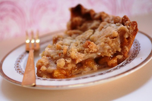 Slice of ground cherry pie