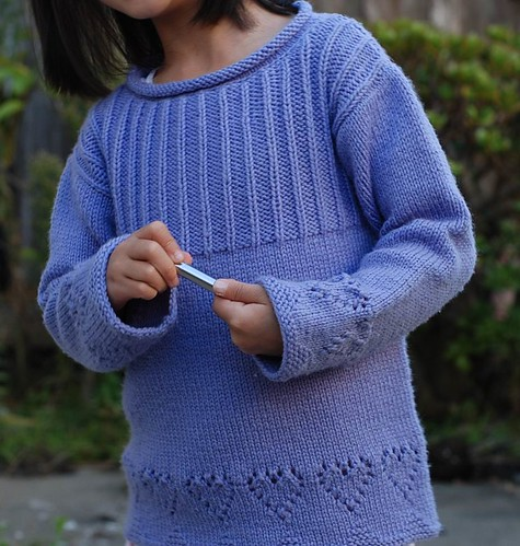 Cute sweater for a little girl