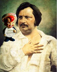 Honoré de Balzac with Heartburn, after Louis-A...