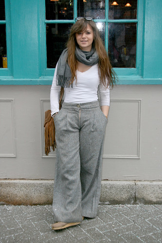 wide-leg trousers, so chic