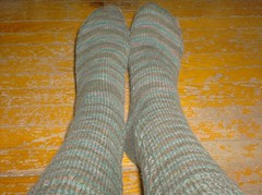 Tea on the Sea Socks (completed)