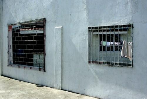 barred windows