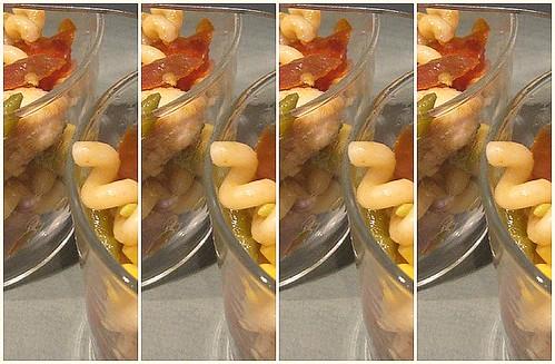 Insalata tiepida di pasta