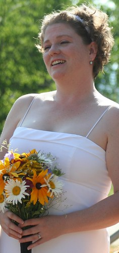 The Bride prepares to take her vows