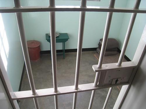 Nelson Mandel's prison cell on Robben Island