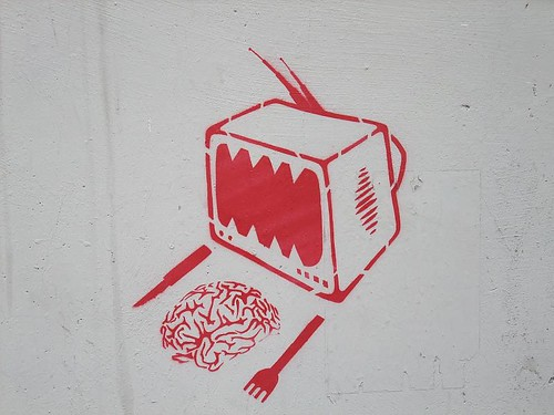 tv and your brain: Turin street art